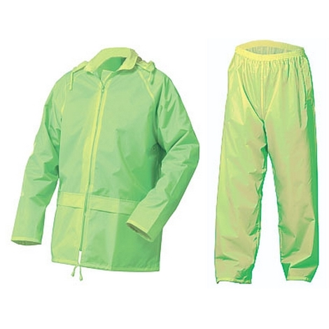 Click NBDSSYXXXL Nylon Waterproof Jacket and trousers Saturn Yellow XXXL