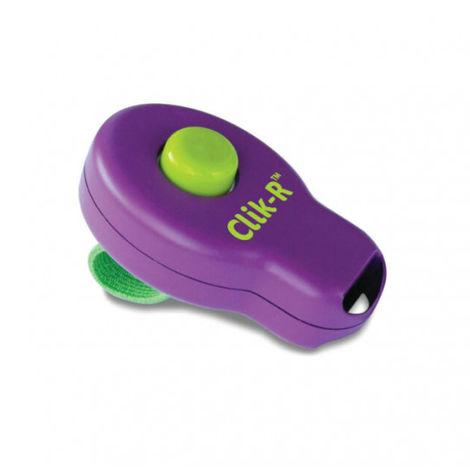 Clicker Clik-R avec doigtier 1 son Soft pour dressage chien