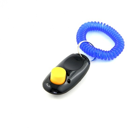 Clicker noir d'entraînement avec cordon