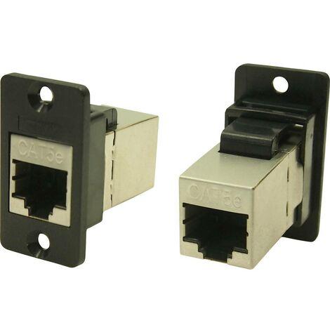 Cliff CP30620S Adaptateur/prolongateur encastrable noir 1 pc(s)