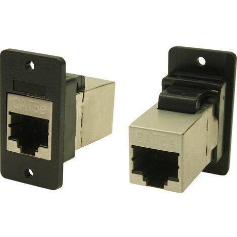 Cliff CP30620SX Adaptateur/prolongateur encastrable noir 1 pc(s)