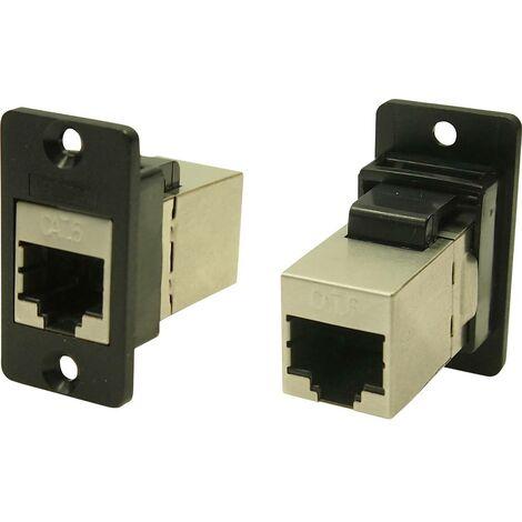Cliff CP30622S Adaptateur/prolongateur encastrable noir 1 pc(s)