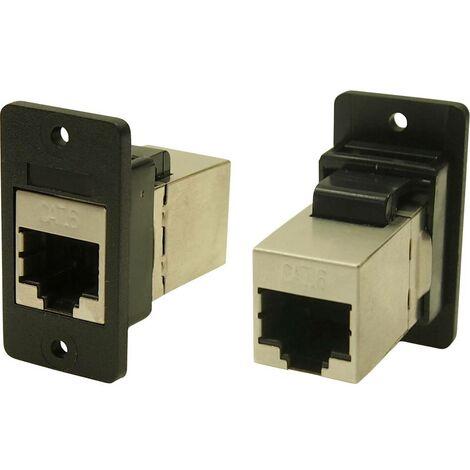 Cliff CP30622SX Adaptateur/prolongateur encastrable noir 1 pc(s)