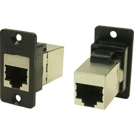 Cliff CP30625S Adaptateur/prolongateur encastrable noir 1 pc(s)