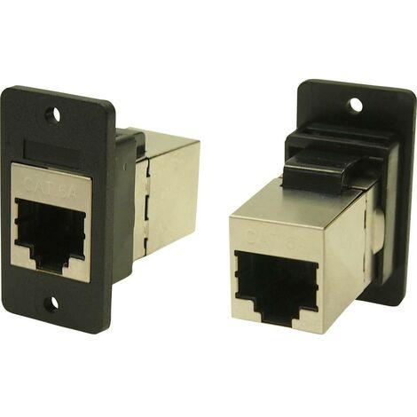Cliff CP30625SX Adaptateur/prolongateur encastrable noir 1 pc(s)
