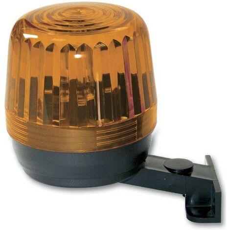 Clignotant LED Hiltron pour les portails automatiques 230V Orange LUX230A