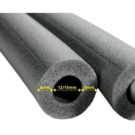 PE Rohrisolierung Rohrdämmung 28 x 25 mm gemäß 100/% EnEV 2 Meter