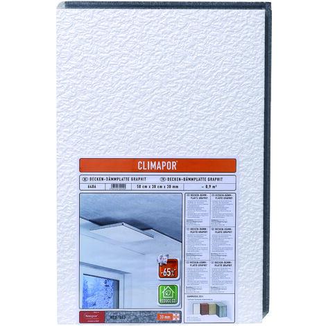 Climapor Decken-Dämmplatte GRAPHIT, weiß, 58 x 38 x 3 cm verschiedende Abnahmemengen