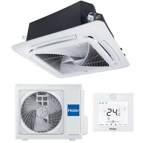 Climatiseur à cassette Haier Round Flow 9.2KW 31200BTU 90x90 R32 A+/A
