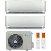 Climatiseur Double Split Clivet 9000+9000BTU Onduleur R32++