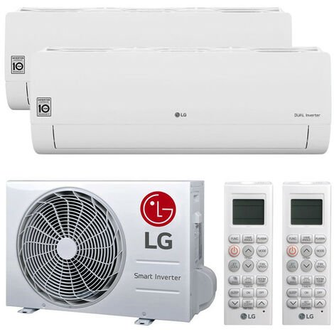 Climatiseur Double Split LG LIBERO SMART 9000+9000BTU WIFI R32++/A+