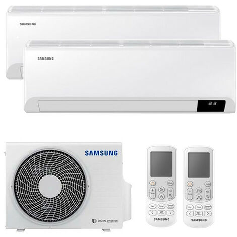 Climatiseur Double Split Samsung CEBU 9000+12000BTU WIFI Inverter R32 A++