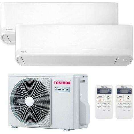 Climatiseur Dual Split Toshiba Seiya 9000BTU+9000BTU 2,5kW+2,5kW A++/A+ R32