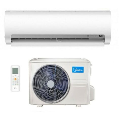Climatiseur Inverter Midea 9000 BTU Serie Prime classe d'énergie R-32 A++ | Blanc