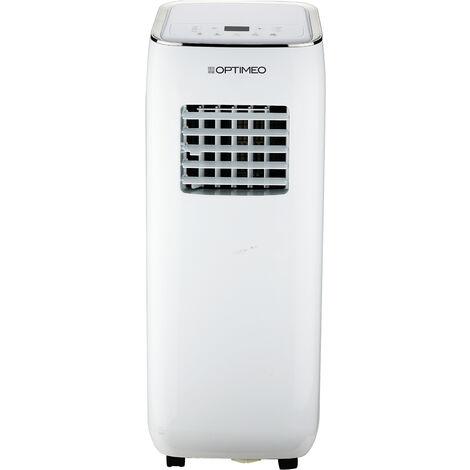 Climatiseur mobile 2000W (7000BTU) compact et silencieux pour les pièces de 15 à 20m² OPTIMEO OPC-C01-071