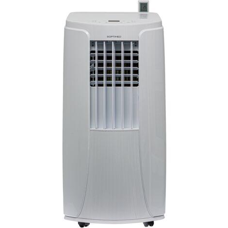 """main image of """"Climatiseur mobile 3500W (12000BTU) silencieux pour les pièces de 25 à 35m² OPC-C02-121 OPTIMEO (Marque française)"""""""