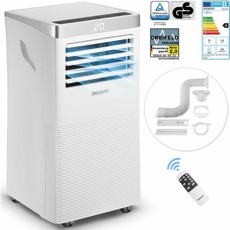 """main image of """"Climatiseur mobile 4 en 1 avec télécommande minuterie Rafraîchisseur d'air Déshumidificateur Ventilateur 7000 BTU/h """""""