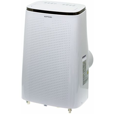 """main image of """"Climatiseur mobile 4100W (14000BTU) ultra puissant spécial grandes pièces jusqu'à 40m² OPC-A01-140 OPTIMEO (Marque française)"""""""