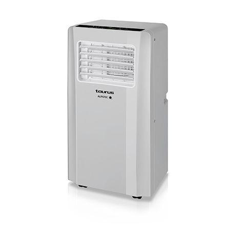 Climatiseur mobile - 65dB - 320m3/h - Argent