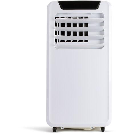 climatiseur mobile connecté 9000 BTU/2600w 30m2 blanc - dom415 - livoo