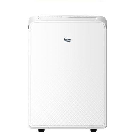 climatiseur mobile monobloc 2600w 29m2 - bx109c - beko