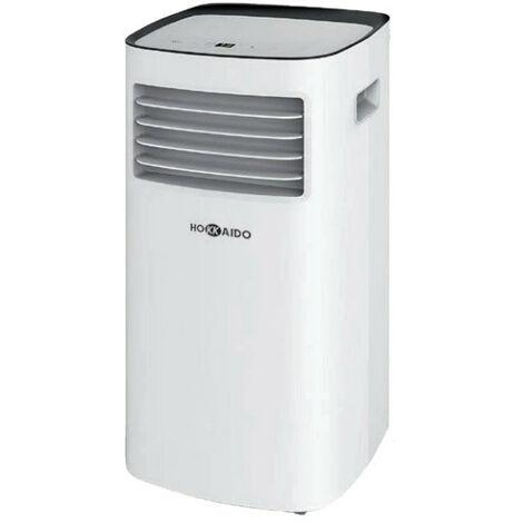 Climatiseur mobile monobloc 3 en 1 - 2600W - 63dB - Blanc