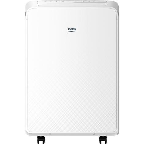 climatiseur mobile monobloc 3400w 48m2 - bx112c - beko