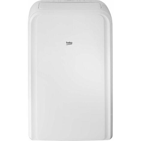 climatiseur mobile monobloc 3500w 37m2 - ba112c - beko