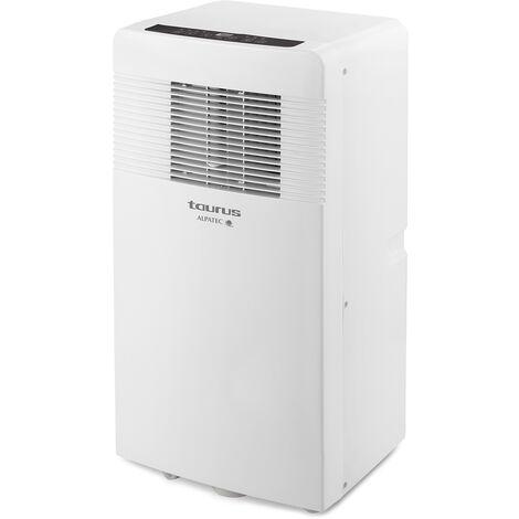 climatiseur mobile réversible 10 500 BTU/3000w 30m2 avec kit fenêtre - ac3100rvkt - taurus alpatec