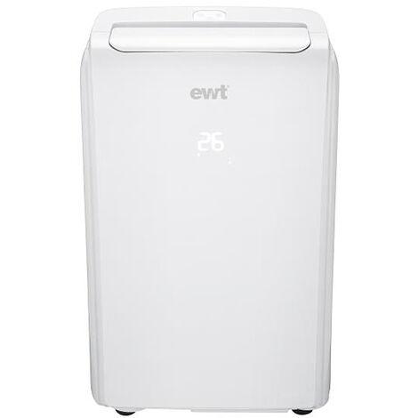 climatiseur mobile réversible 12000 BTU/3200w 41m2 blanc - snowair12he - ewt