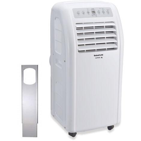 climatiseur mobile réversible 2050w 20m2 avec kit fenêtre - ac205rvkt - taurus alpatec