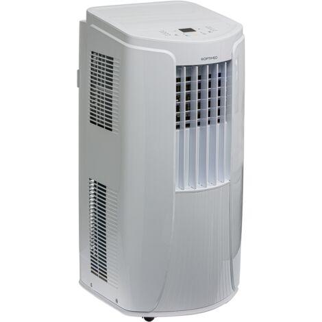 Climatiseur mobile réversible 3500W (12000BTU) silencieux pour les pièces de 25 à 35m² OPC-C02-121HP OPTIMEO (Marque française)