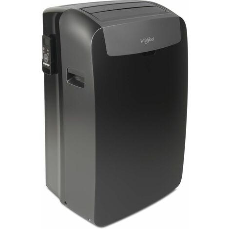 climatiseur mobile réversible 3500w 35m2 - pacb212hp - whirlpool