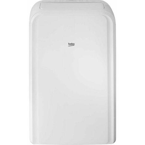 climatiseur mobile réversible 3500w 37m2 - ba112h - beko