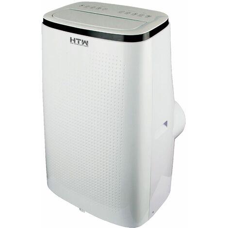 climatiseur mobile réversible 4100w 35m2 blanc - htw-pb-041p31 - htw
