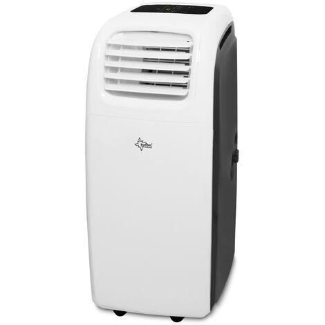 Climatiseur Mobile Reversible TRANSFORM 14000 Eco R290, 6 en 1 : Refroidissement, Chauffage, ventilateur, Déshumidificateur (3,8 kW) ~160 m³ /70 m² (14.000 BTU) [Classe énergétique A] SUNTEC