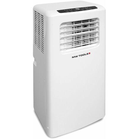 Climatiseur mobile silencieux 9000BTU 2,6kW 25-35 m² classe A MW-Tools DA900
