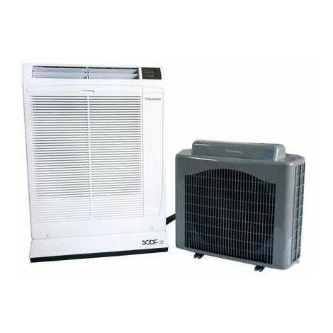 Climatiseur mono split mobile déconnectable SCDF32 Technibel - 4 kW - Classe énergétique A - Sélection Cazabox