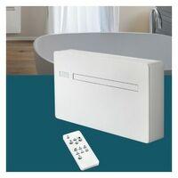 Climatiseur monobloc réversible NEWREVE WIFI 12 ELEC - 27/41dB - 2.35kW - Blanc