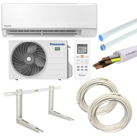 Climatiseur Panasonic FZ 3,5KW 12000BTU A++/A+ R32 avec kit d'installation