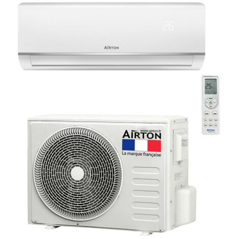 Climatiseur reversible AIRTON - A Poser Soi-meme - 2500W - 409730
