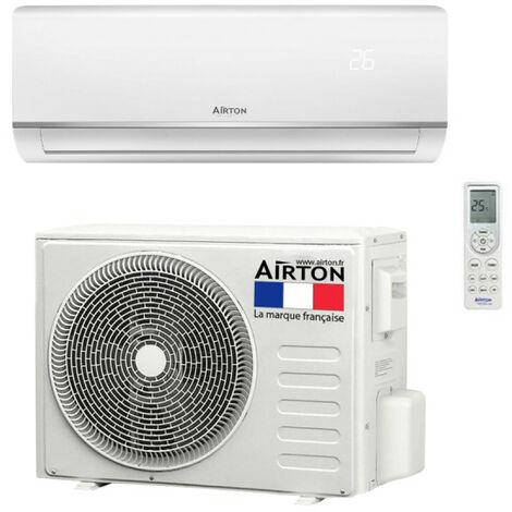 Climatiseur reversible AIRTON - A Poser Soi-meme - 5270W - 409732