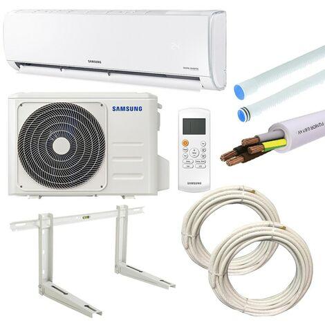 Climatiseur Samsung AR35 2,5KW 9000BTU A++/A+ R32 avec KIT d'installation