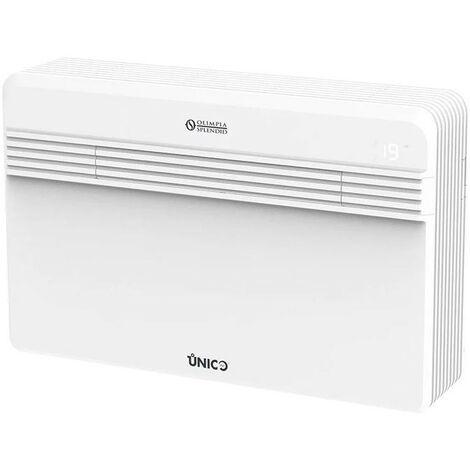 Climatiseur sans unité extérieure Unico Pro 12 HP Olimpia Splendid avec pompe à chaleur avec gaz R410A | Blanc