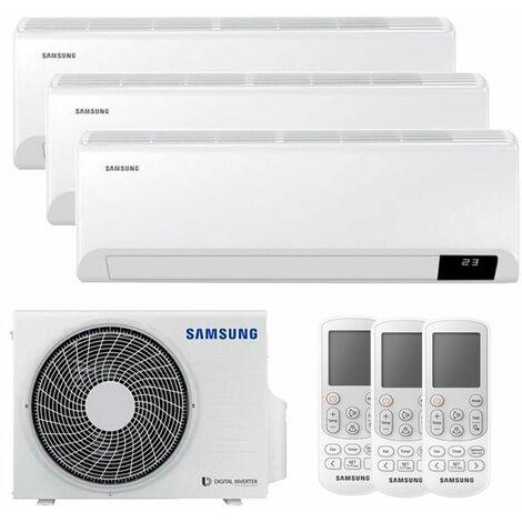 Climatiseur Trial Split Samsung CEBU 9000+9000+9000BTU WIFI Inverter R32 A++