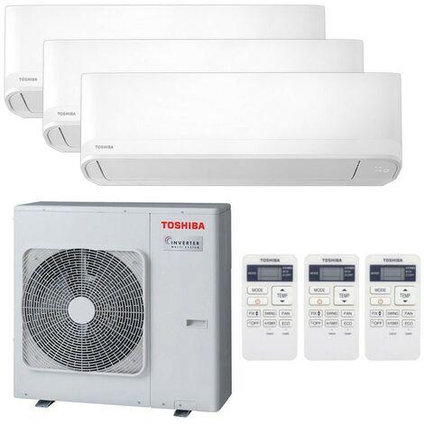 Climatiseur Trial Split Toshiba Seiya 9000+12000+12000BTU A++/A+ R32
