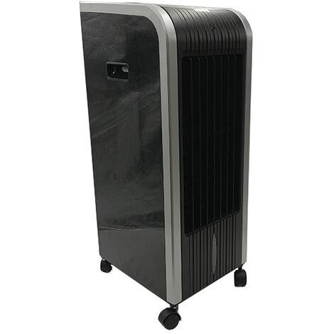 Climatizador 5 en 1 digital portátil Black-Cool. Climatizador, Evaporativo, Calefactor, Ventilador, Humidificador, Ionizador Portátil - Frío 80W - Calor 1000W - 2000W