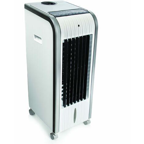 Climatizador 5 en 1 digital portátil White-Cool. Climatizador, Evaporativo, Calefactor, Ventilador, Humidificador, Ionizador Portátil - Frío 80W - Calor 1000W - 2000W