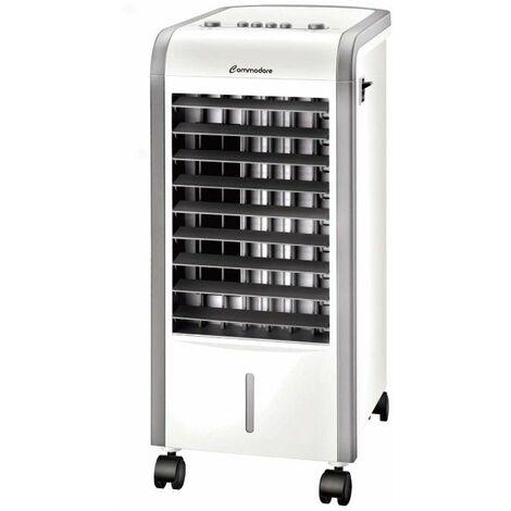 Climatizador con bomba de calor commodore cm1012/ 2 niveles de potencia/ depósito 3l