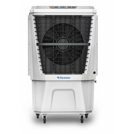 Climatizador evaporativo gran caudal 4.500 m3/h depósito de agua 40 litros